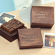 заглавные буквы шаблон старинные марки комплект (28 шт / комплект)