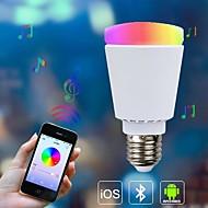 8W E26/E27 LED kulaté žárovky A60(A19) 33 SMD 5630 650 lm Stmívací / Dálkové ovládání / Senzor / Ozdobné AC 85-265 V