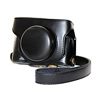 Pajiatu® Retro PU Leather Camera Protective Case with Shoulder Strap for Fujifilm X30