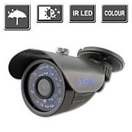 yanse® 24-vezette ir színes CCTV kamera vízálló látás biztonsági kültéri kamerák 722cc