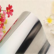 prata minimalista sólido filme fosco janela moderno - 0,9 × 5 m (2,95 × 16,4 pés)