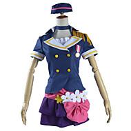 lovelive! a-ökning chockerande parti anju yuuki cosplay dräkt