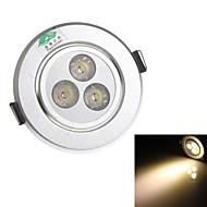 Zweihnde 3 W 3 Dip LED 280 LM Warm White C Decorative Ceiling Lights AC 85-265 V
