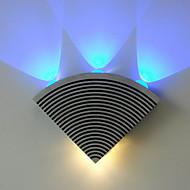 85-265v ledde vägg lampetter, modern / samtida ledda integrerade metall