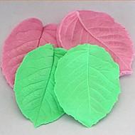 3D Leaf Clamping Fondant Cake Silicone Mold Cake Decoration Tools,L8cm*W6.5cm*H1cm