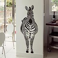 Wandaufkleber Wandtattoo, moderne Zebra PVC-Wandaufkleber