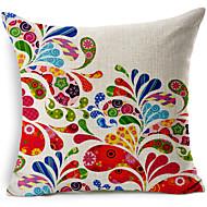 färgrik abstrakt mönster bomull / linne dekorativa örngott