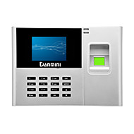 Danmini silver N308-T Network fingerprint attendance machine Dual core processor High precision to identify