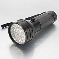 照明 LED懐中電灯 / ブラックライト・フラッシュライト / 携帯式フラッシュライト LED 150 ルーメン 1 モード - 単三電池 防水 / 耐衝撃性 / 滑り止めグリップ 警察/軍隊 / 狩猟 / ワーキング アルミ合金