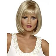 les femmes dame perruques de cheveux synthétiques courte