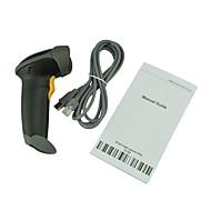 laser scanner de codes barres supermarché pistolet 0,10 mm (4 mil) pcs0.9 bidirectionnelle seul balayage