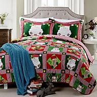 flora pattern polyester Santa Claus další jehly prošívání sada, sada 3