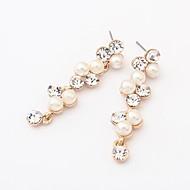 europeisk stil boutique mote perle øredobber