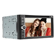 "krympe 6.2 ""2DIN kapacitiv universal bil DVD-afspiller med RDS, Bluetooth, GPS, WiFi, digital-tv"