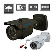 yanse® couleur ir caméra de surveillance de sécurité de vision étanche caméras extérieures 24 LED 1000tvl 867cf