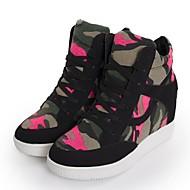 dámské boty kolem toe klín pata módní tenisky boty více barev k dispozici