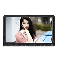 Rungrace 7-inch 2 Din TFT Screen In-Dash Car DVD Player With Bluetooth,Navigation-Ready GPS,RDS,  RL-203WGNR02