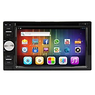 Android 4.2 da 6.2 pollici in-dash lettore DVD dell'automobile multi-touch capacitivo con wifi, gps, RDS, ipod, bt, dvb-t