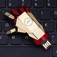 64gb zp padrão de mão macânica flash drive USB estilo de metal