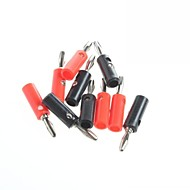 Stereo Speakers 4MM Banana Plug Sockets Red / Black (10Pcs)