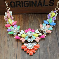 Ladies'/Women's Quartz/Acrylic Necklace Party/Daily Rhinestone