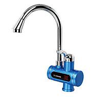 digitalni električni grijači vode Slavina hladne dvojne namjene zaslon vruće elegantna srebrna