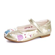 Girl's Spring / Fall Comfort / Round Toe / Closed Toe Leather / Leatherette Outdoor / Casual / Athletic Flat HeelCrystal / Applique /
