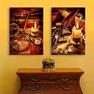 e-Home® venytetty johti kankaalle tulostaa taiteen kynttilä salaman vaikutus johti vilkkuva valokuitu tulostaa sarja 2