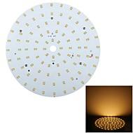 YouOKLight Lâmpada de Teto Decorativa 18 W 1750 LM 3500 K Branco Quente 92 SMD 2835 V
