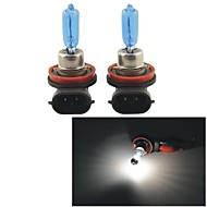 bombillas h9 1100lm 5000k 100w de ultra blanco caliente de los faros de halógeno (12V / par)