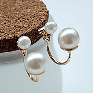 Stud Earrings Men's/Women's Alloy Earring Pearl
