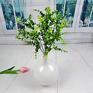"""maaseutu keinotekoinen vihreä eukalyptus lehdet 2 kpl / paljon varsi 12,6 """"sisustuksessa"""