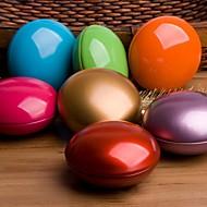 초콜릿 콩 모양의 주석 색상 결혼식 상자
