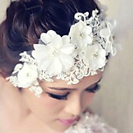 Women's Lace Headpiece - Wedding Flowers
