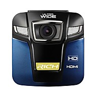 "mini 2,4 ""TFT 12.0mp vidvinkel Bil DVR videokamera 120 graders vidvinkel"