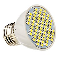 terénní domácí lihgt E27 3,5 w 310lm 60x3528 SMD LED reflektor Puer / teplá bílá DC 12-24 PVC
