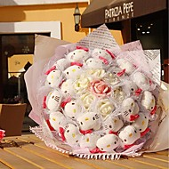 Personality Valentine's Day Gifts Creative Romantic Hello Kitty Cat Doll Bouquet LIWUYOU™