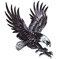 1 Pcs Waterproof  Multicolored  Large Color Map  Eagle  Pattern  Tattoo Stickers