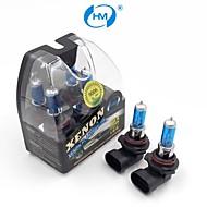 hm® xenon plasma 9006 lampadine lampada 12v 100w faro di luce bianca (una coppia)