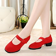 Dance Sneakers Women's Split Sole Flat Heel Leather Dance shoes (More Colors)