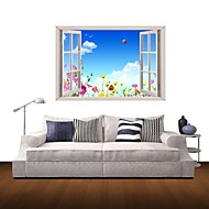 3D Wall Stickers Wall Decals, Scenery Home Decor Vinyl Wall Stickers