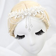 Women's/Flower Girl's Lace/Crystal/Alloy/Imitation Pearl Headpiece - Wedding/Special Occasion Headbands/Flowers/Head Chain
