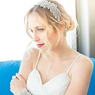 Bergkristal Vrouwen/Bloemenmeisje Helm Bruiloft/Speciale gelegenheden Hoofdbanden Bruiloft/Speciale gelegenheden