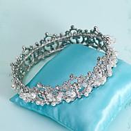Women's Pearl/Rhinestone/Alloy Headpiece - Wedding/Special Occasion Tiaras/Headbands