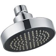 substituição banho de cromo polido cabeça de chuveiro de 4 polegadas de suporte fixo, j335