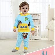 dětský set na jaře a na podzim dlouhý rukáv tričko a kalhoty dítě nastavit dva kusy sady