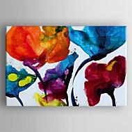 Ölgemälde moderne abstrakte Malerei Hand bemalte Leinwand mit gestreckten Werk