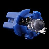 T5 B8.5d Bil LED-indikator ljus Gauge Speedo Dashboard Side Interior Lamp Bulb