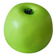 maçã verde decorativo fruta, 2pcs / set