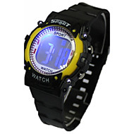Children's Multifunction LED Sporty Digital Silicone Band Wrist Watch(Assorted Colors) Cool Watches Unique Watches